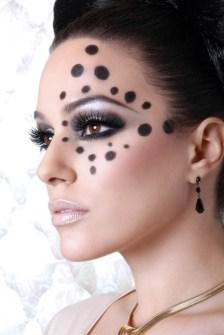 Maquillaje para Halloween fácil y elegante