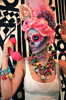 Maquillaje para Halloween Calaveras Mexicanas