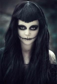 Maquillaje para Halloween novia cadáver