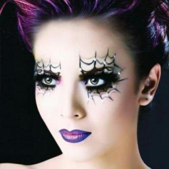 Maquillaje para Halloween Gótico