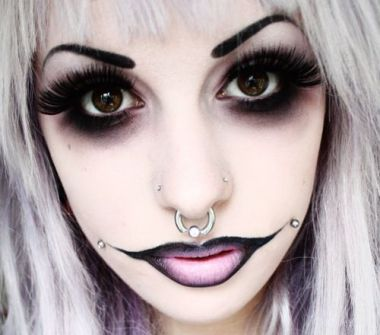 Maquillaje para Halloween para chicas