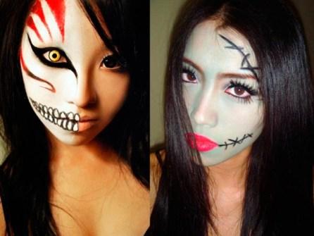 Maquillaje para Halloween sexy y atrevido