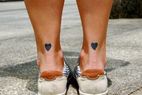 Mini Tatuajes Corazoncitos