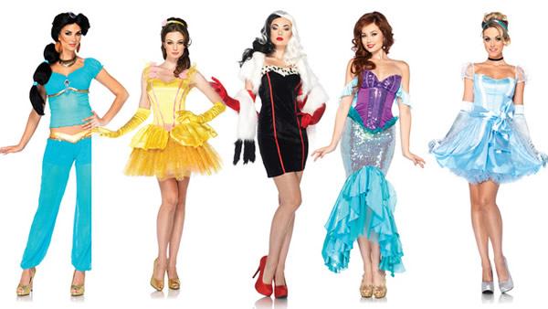 Disfraces Sexies para Chicas - Personajes Disney