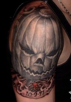 Tatuajes de Terror para Halloween