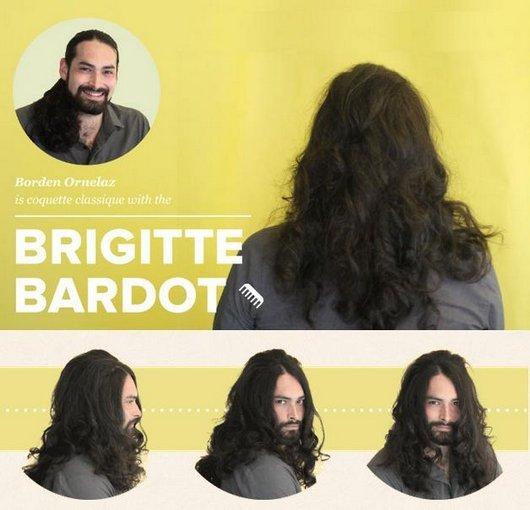 Peinado estilo Brigitte Bardot