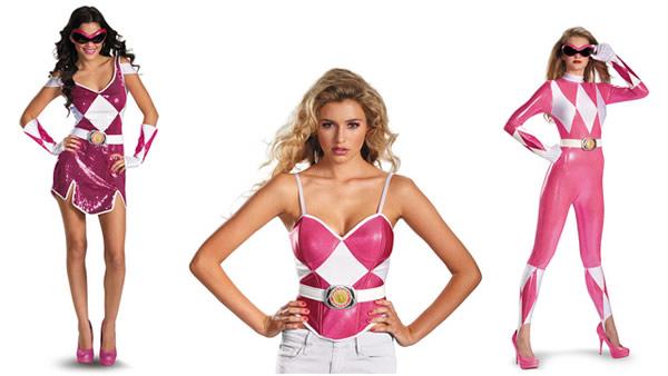 Disfraces Sexies para Chicas - Power Rangers