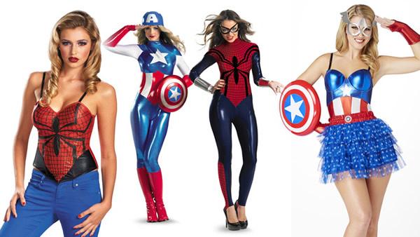 Disfraces Míticos - Disfraces Superheroínas