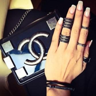 Midi Rings negros