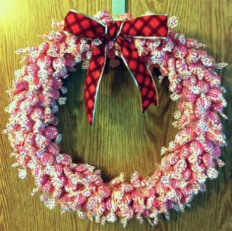 Coronas de Navidad DIY