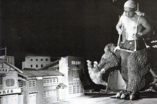 """Maqueta """"Godzilla"""""""