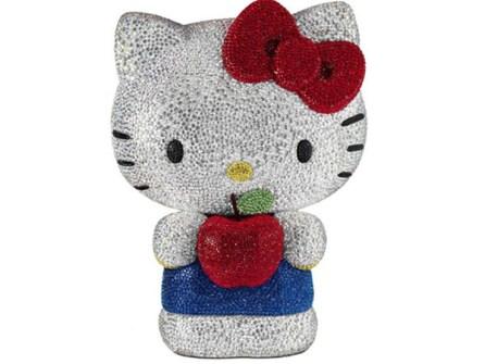Hello Kitty  con Cristales de Swarovski