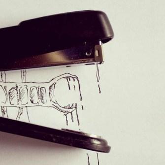 Parecidos razonables - Ilustraciones ingeniosas con elementos comunes