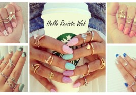 ¿Te consideras una Girly? Viste tus Manos con Midi Rings.