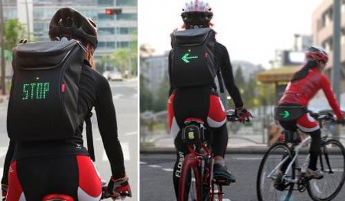 Mochilas LED para Ciclistas