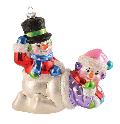 10 Adornos de Navidad que destruirán tu Espíritu Navideño - Muñecos de nieve en posición comprometida
