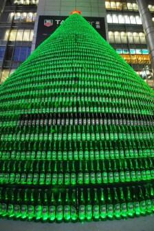 26 Árboles de Navidad Diferentes - Árbol de Navidad de botellas de Heineken