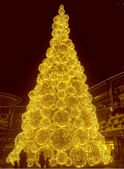 26 Árboles de Navidad Diferentes - Árbol de Navidad dorado