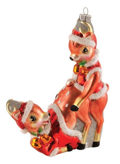 10 Adornos de Navidad que destruirán tu Espíritu Navideño - Bambi en celo
