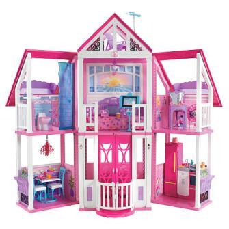 Regalos infantiles Navidad - Barbie Malibú Dreamhouse