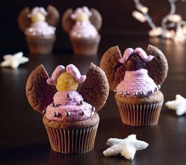 Christmas Cupcakes - Ángeles de Navidad