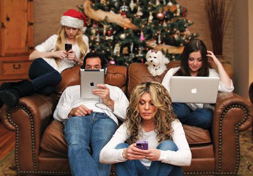 18 Felicitaciones de Navidad Creativas y Divertidas - Felicitaciones de familias modernas