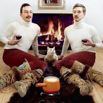 Ideas divertidas para la Felicitación de Navidad - Felicitaciones de Navidad Gay
