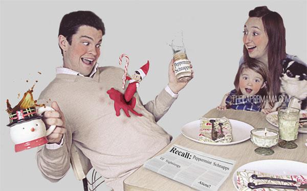 18 Felicitaciones de Navidad Creativas y Divertidas - Felicitaciones gore