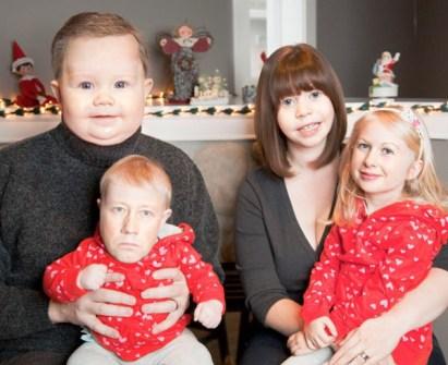 Ideas divertidas para la Felicitación de Navidad - Montajes de Navidad con tu Familia