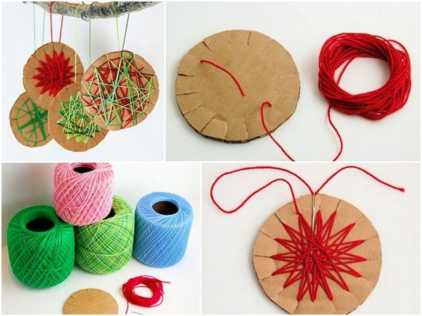 15 Adornos de Navidad que puedes hacer con tus hijos - Adornos para el árbol