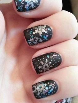 Ideas para Decorar Uñas en Navidad - Christmas nail tattoo