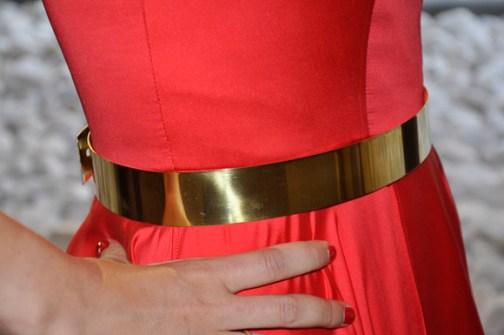 Cinturón Joya metálico