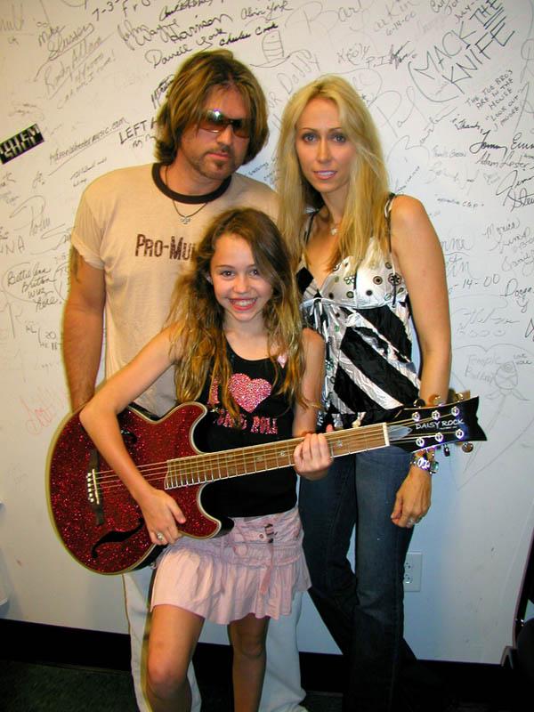 Hace 11 años de esta foto de Miley Cyrus.