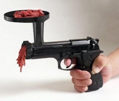 15 Inventos Extraordinarios para tu Casa - Pistola trituradora.