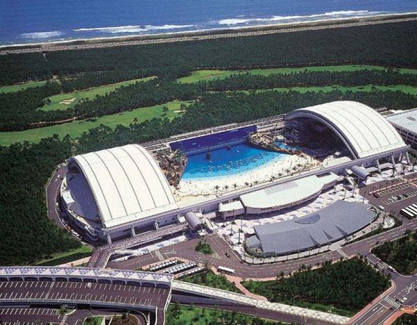 Sheraton Ocean Dome Resort en Japón.