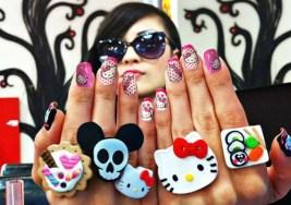 Lo Mejor en Uñas Decoradas de Hello Kitty.