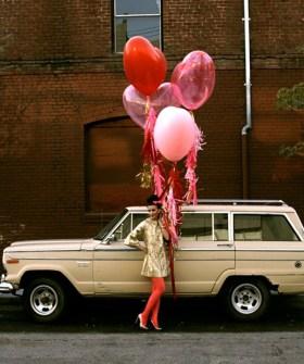 Regalos DIY para San Valentín - Espera a tu chico con globos de corazones