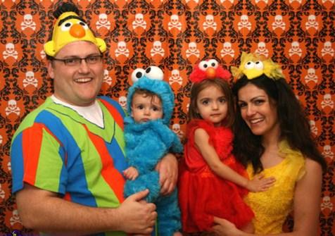 Disfraces Fáciles y Originales para Carnaval - Familia Barrio Sésamo