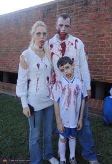 Disfraces Fáciles y Originales para Carnaval - Familia Zombie