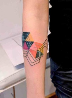 Los Mejores Diseños de Tatuajes Geométricos.