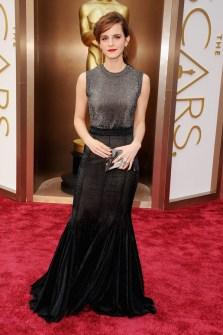 Las Peor Vestidas Oscar 2014 - Emma Watson