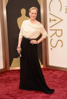 Las Peor Vestidas Oscar 2014 - Meryl Streep