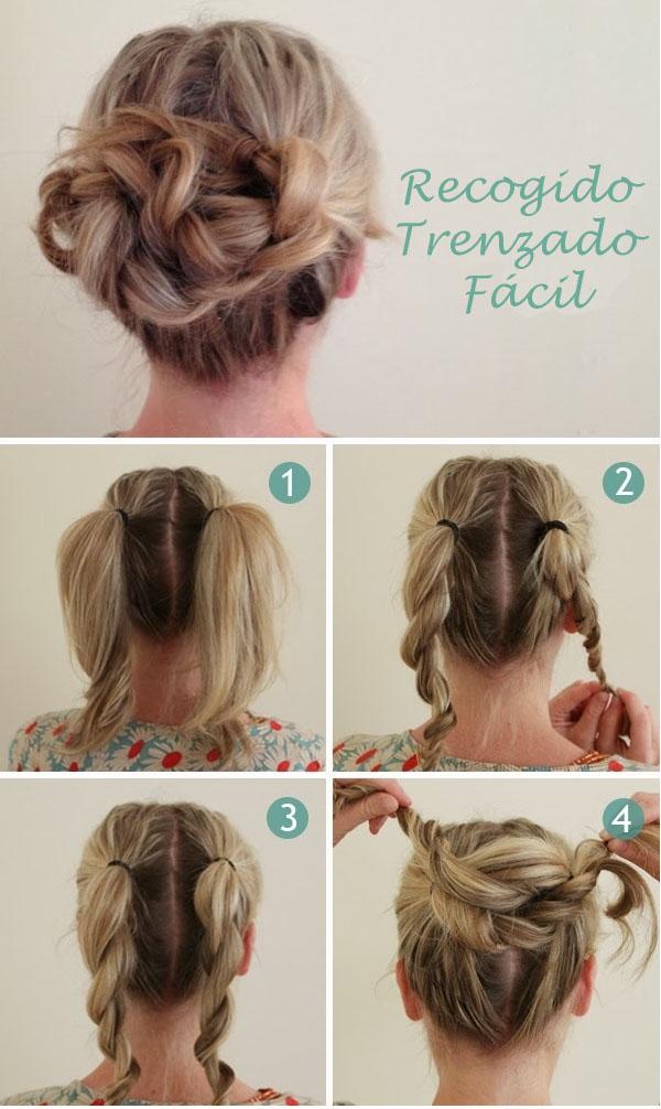 3 Peinados Express Fáciles y Resultones.