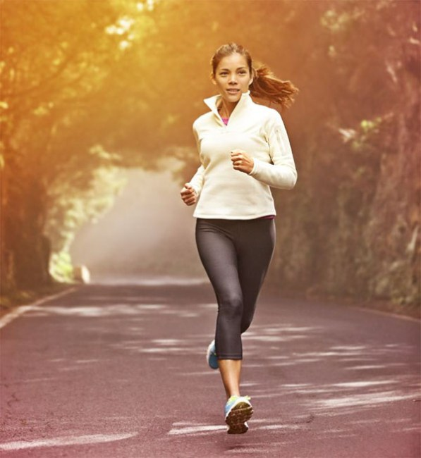 Toma la decisión de correr con firmeza