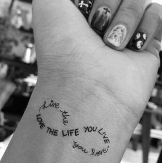 Tatuajes en las Muñecas para chicas