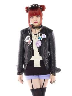 Las Tribus Urbanas más Radicales de Japón - Punk Lolita