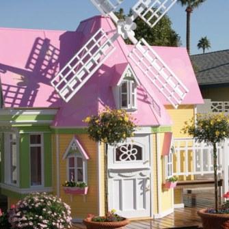 Los Mejores Patios Traseros - Casa Molino de Juguete
