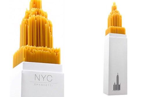 El Packaging con Mejor Diseño - Spaghetti NYC