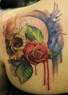 Tatuajes Acuarela - Lianne Moule - Immortal Ink, Essex, Inglaterra