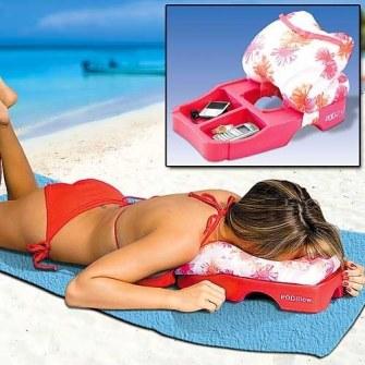 Gadgets de Playa - Cojín de playa con almacenaje